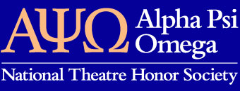 Alpha Psi Omega National Theatre Honor Society